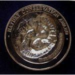 Nature Conservation Award medallion side 2